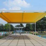 Allwetterschutz Schwimmbad