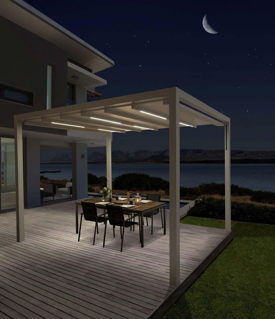 baldachin direkt vom hersteller gegen sonne und regen. Black Bedroom Furniture Sets. Home Design Ideas