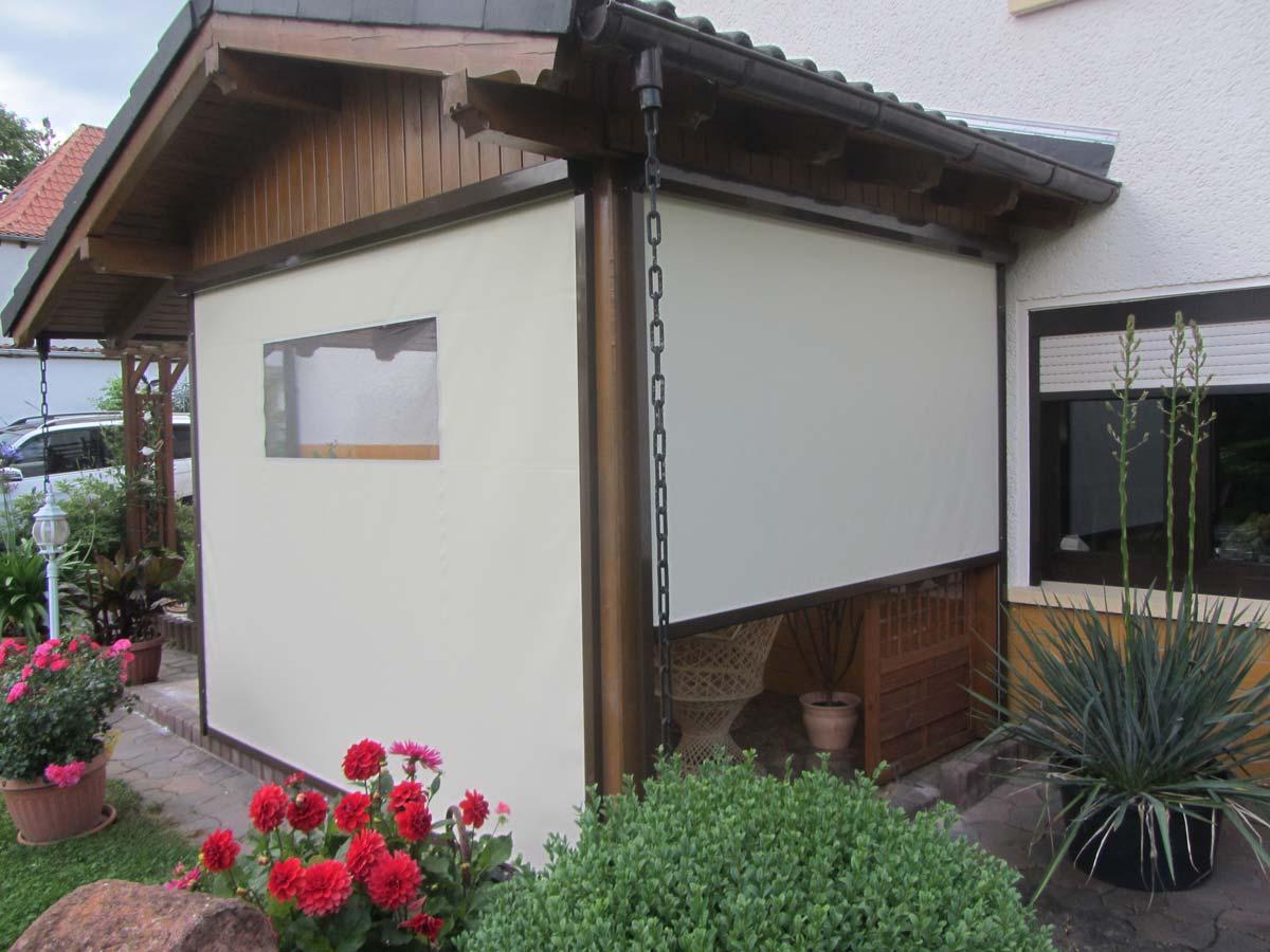 Bewegl Wetterschutz für Ihre Terrasse direkt vom