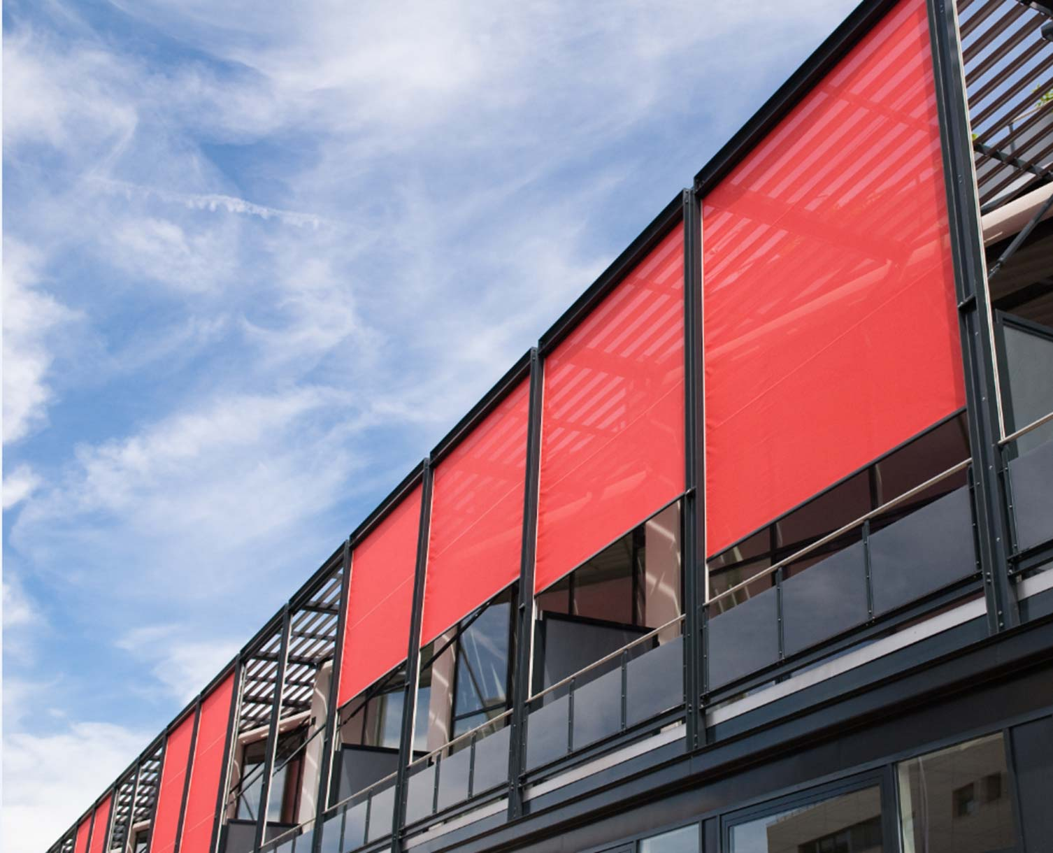 Wetterschutz für den Balkon zum WerkspreisAllwetterschutz