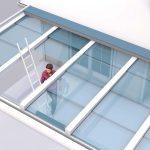 Schiebedach Terrasse reinigen