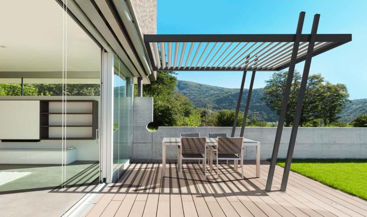 lamellen überdachung terrasse preise