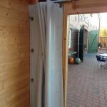 PVC-Wetterschutzvorhang