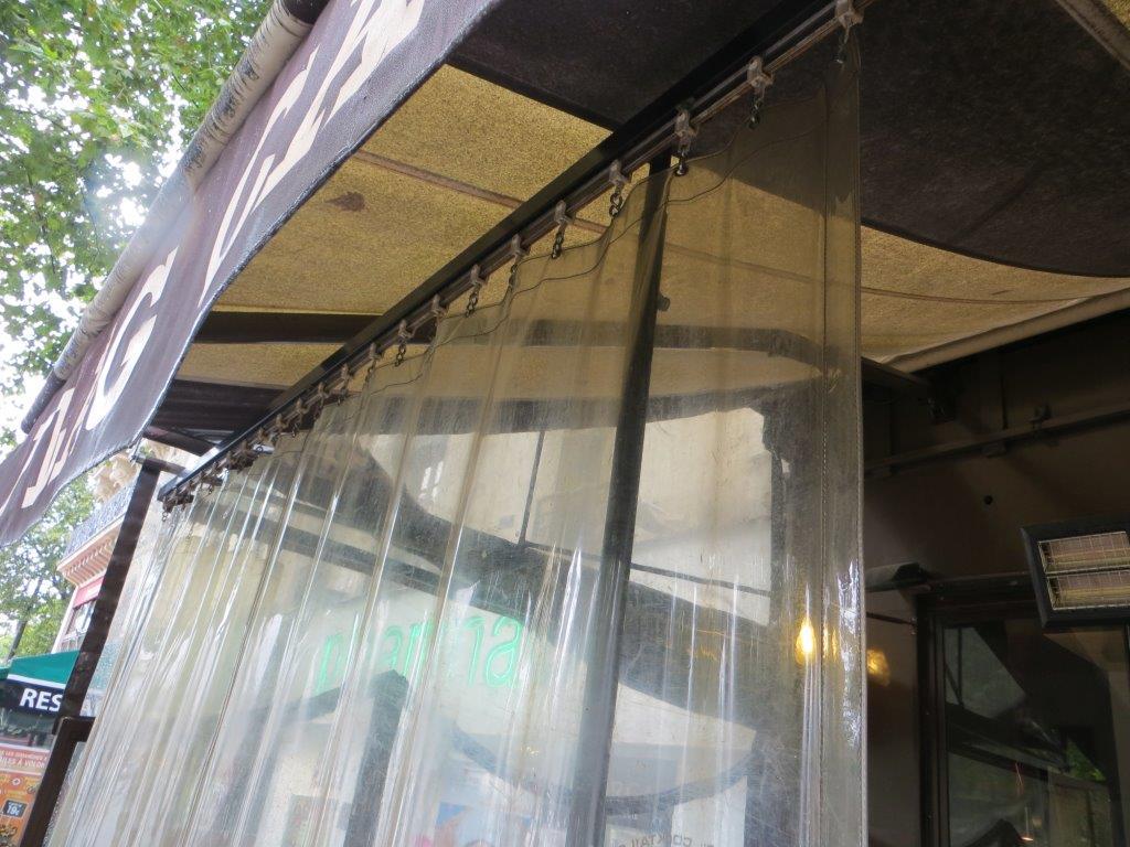 Regenschutz für Balkone