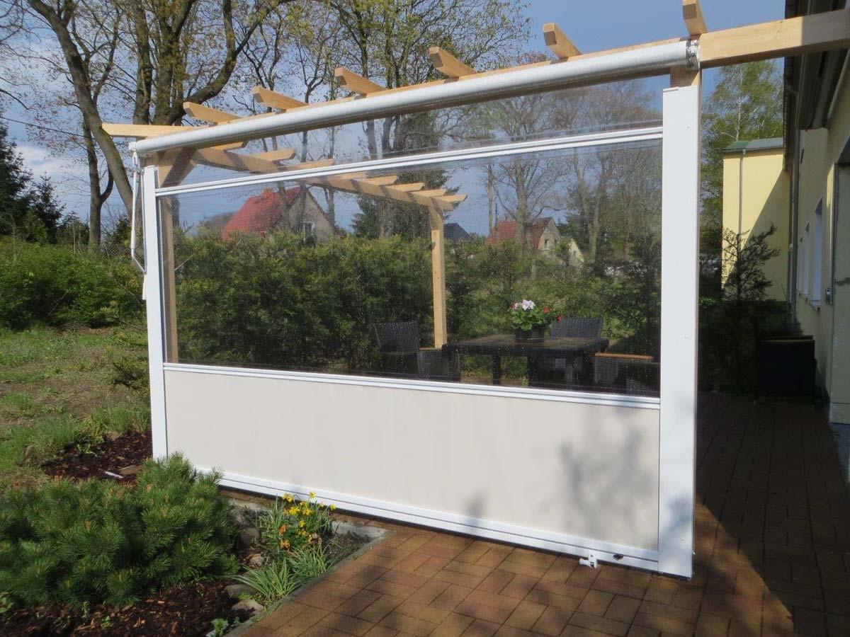 Welchen Wetterschutz Gibt Es Fur Die Terrasse Hersteller Ubersicht