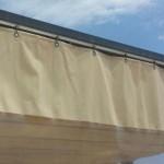 Vorhang mit Durchsicht