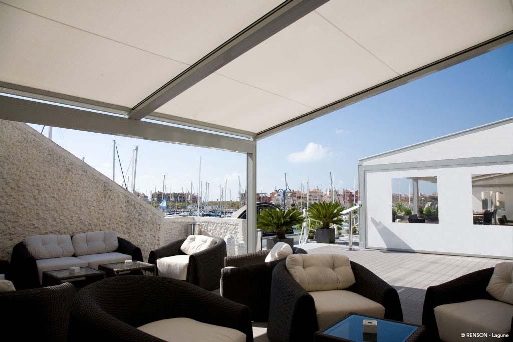 Wetterschutz für Terrassen