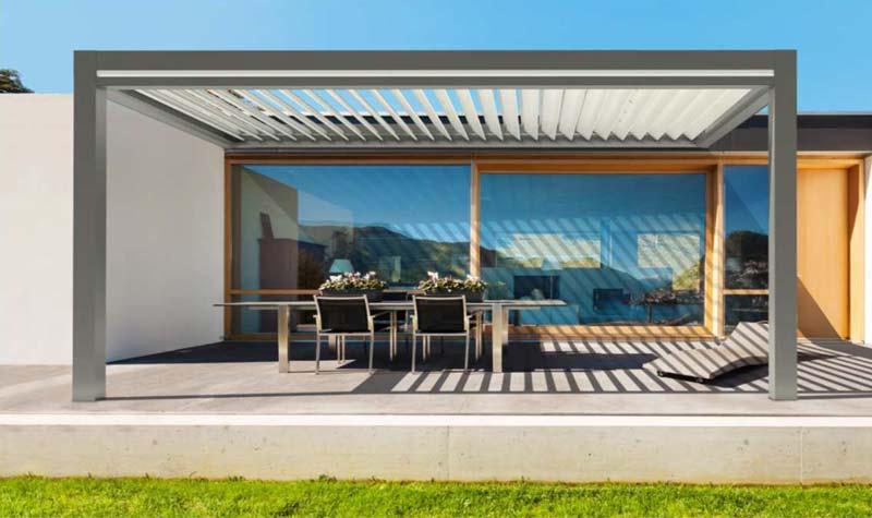 lamellend cher als bioklimatische pergola hersteller bersicht preise. Black Bedroom Furniture Sets. Home Design Ideas