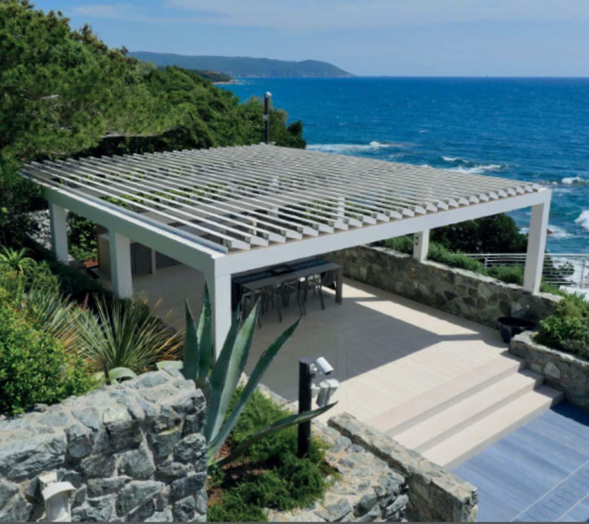 Dach Für Pergola lamellendächer als bioklimatische pergola- herstellerübersicht & preise