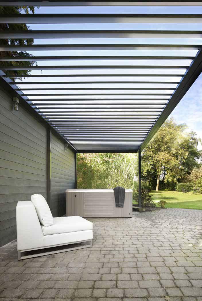 Lamellendächer als verstellbare Pergola- Herstellerübersicht & Preise