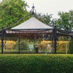 Pavillon-Wetterschutz auf Maß
