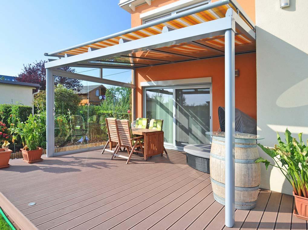 pergola markise der allwetterschutz f r ihre terrasse zum. Black Bedroom Furniture Sets. Home Design Ideas