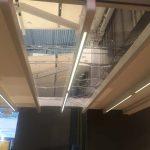 Faltdach mit Folienfenster