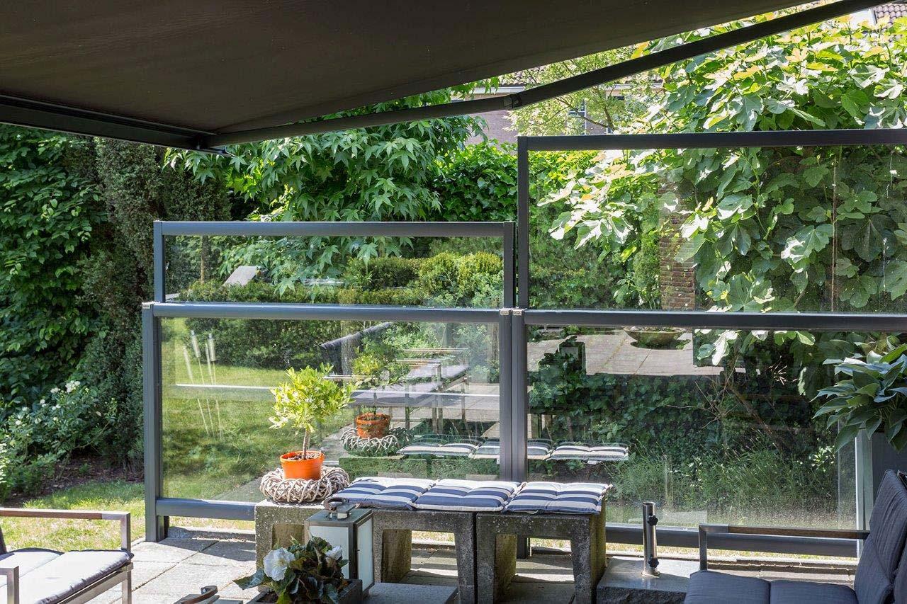 der flexible windschutz f r ihre terrasse zum werkspreis. Black Bedroom Furniture Sets. Home Design Ideas